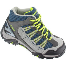 Hi-Tec Forza Mid WP Shoes Junior Cool Grey/Majolica/Limoncello